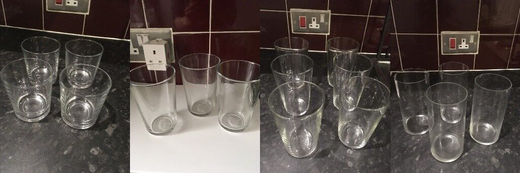 f19d96396f32 IKEA and Waitrose 17 pieces of Glasses Kings Cross
