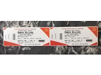 Robbie Williams Tickets x 2