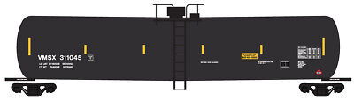 HO Scale Tank Car Decals Helvetica Lettering by Smokebox Graphics TILX GATX