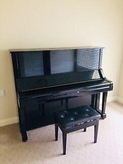 Yamaha Piano - Upright (Gloss Black)