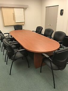 Meubles salle de conference table and shelf