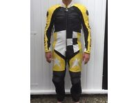 One piece, perforated motorcycle leathers: Pro Sports by Hein Gericke - little used