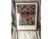 Paul Klee wooden framed pictures