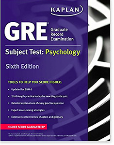 GRE Subject Test: Psychology Paperbackby Kaplan Test Prep
