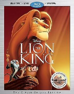 The Lion King (Walt Disney Signature 2017 edition) Bluray + DVD