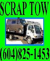 A-1 TOWING AND SCRAP CAR,Truck,Van REMOVAL-AGASSIZ/HARRISON/HOPE