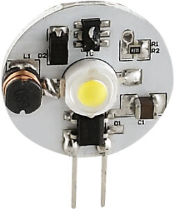 Auto Rv Boat Led Replacement Bulb G4 Base W Side Pins 70 Lum 12v 24v 6060104