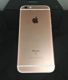 Apple iPhone 6s - 16GB - Rose Gold (Unlocked) - Grade A EXCELLENT CONDITION
