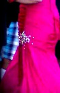 prom dress for sale - corset back goes from size 13 to 16 Kitchener / Waterloo Kitchener Area image 2