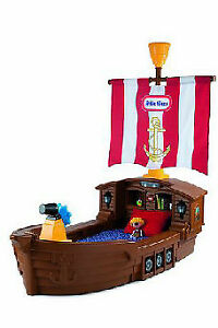 Toddler Pirate Ship Boat Bed