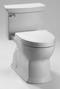 TOTO SOIREE ONE PIECE SKIRTED TOILET WHITE- NEW!