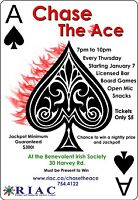 Chase the Ace for RIAC!