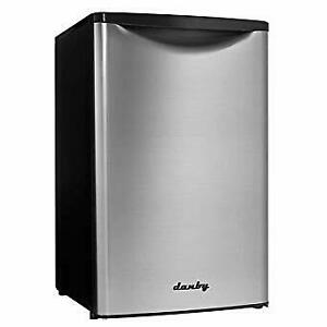 Danby Black/ Stainless 4.4 cu. ft. Refrigerator-New!!
