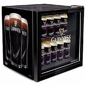 Husky mini Fridge 46L Guinness branding