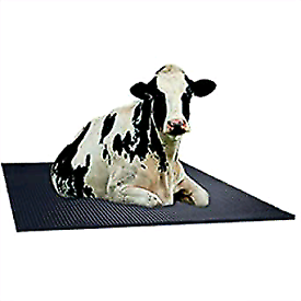 Cow and horse stable rubber mats bedding