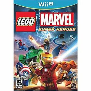 LEGO Marvel Super Heroes Video Game for Wii U
