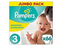 132 Pampers Size 3 2packets