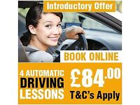 **AMAZING OFFER 4 AUTOMATIC Driving Lessons For £84.00 AT AMDI DRIVING SCHOOL IN EAST LONDON**
