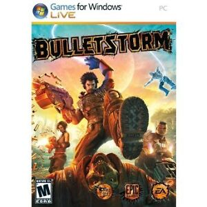BulletStorm Limited Edition pour PC, en excellent etas - 5$