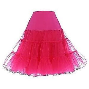 Pink Tutu/Petticoat Long or Short XL- 1XL