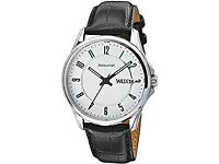 Accurist men's watch white face 100m water resistant