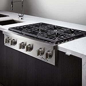 """48"""" DACOR ALL GAS COOK TOP STAINLESS STEEL UNCRATED - $5500"""