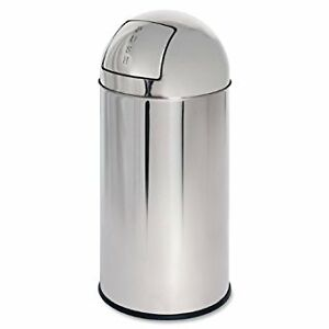 Bullet style metal trash can new or used