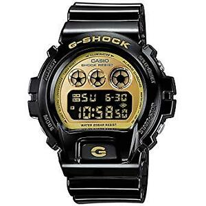 G SHOCK CASIO WATCH- SHOCK RESISTANT. Never Worn Black and Gold