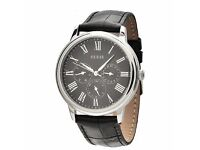 Genuine GUESS MENS WATCH w70016g1 UNWANTED GIFT, in Orginal box\ leaflet, leather strap RRP £65-80.