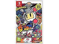 Super Bomberman Nintendo Switch - As New