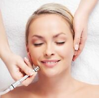 Full facial with Microdermabrasion $65