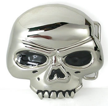 - Classic Skull Belt Buckle Design at Wholesale Prices