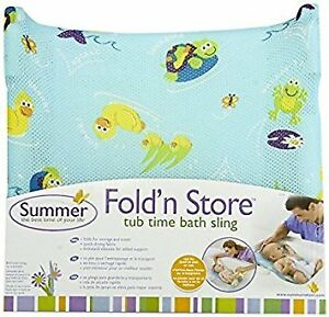 New Summer Infant Fold n Store Bath Sling