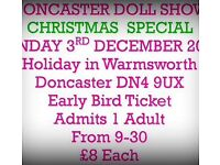 Doncaster Doll Show Early Bird Tickets