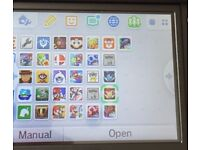 3DS black with 30+ games
