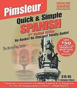 Pimsleur Quick & Simple Spanish