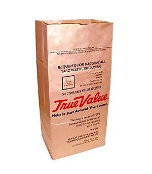 True Value 30-Gallon Paper Lawn and Leaf Bag