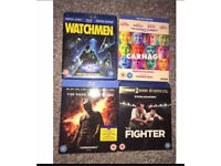 Selection of Blu Ray DVDs