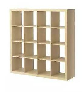 IKEA Expedit Shelving and Storage Cubes - 4x4