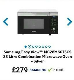 BARGAIN Brand new Samsung combination microwave oven