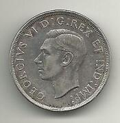 1939 Canadian Silver Dollar