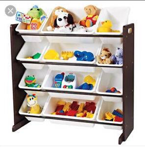 I am looking for a kids toy bin organizer