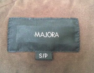 Brown MAJORA Jacket - very warm and good for the fall/winter.