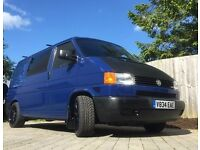 T4 Transporter VW Van Camper 2.5 TDI Converted Blue New MOT Low Mileage 1999 Very Good Condition