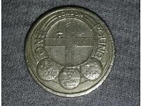 Very rare £1 coin london commonwealth
