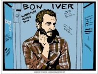2 x Bon Iver 5th March 2 seated tickets Eventim Apollo London tickets in hand