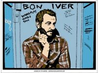 2 x Bon Iver 5th March seated tickets in hand Eventim Apollo London
