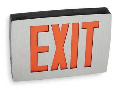 Lithonia Lighting Lqc 1 R El N Quantum Series Cast Aluminum Led Exit Sign