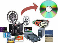 Transfer your Movies, Video Tapes to DVD or USB Drive from $10