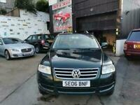4x4*AUTOMATIC*AWD VW TOUAREG DIESEL-ONLY 64K GENUINE MILEAGE-SUPERB EXAMPLE AWD*